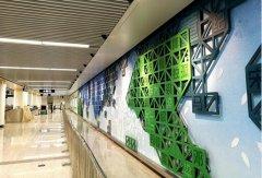 中星烤漆垃圾桶成为郑州地铁